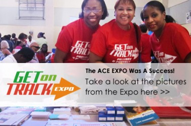 ACE Expo Helps The Community 'Get on Track' to Better Health