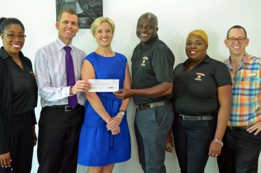 ACE Diabetes Receives Donation from Bad Boy Mowers Battle 4 Atlantis