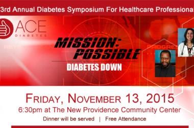 ACE Diabetes Announces 3rd Annual Seminar For Healthcare Professionals
